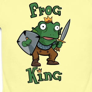 Frog King - Short Sleeve Baby Bodysuit
