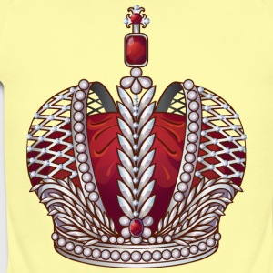Royal gold silver crown jewels cool art - Short Sleeve Baby Bodysuit