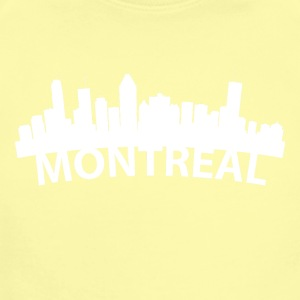Arc Skyline Of Montreal Quebec Canada - Short Sleeve Baby Bodysuit