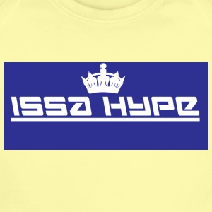 issahype_blue - Short Sleeve Baby Bodysuit
