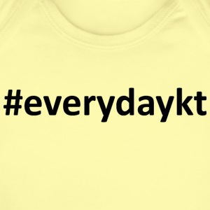everydaykt single - Short Sleeve Baby Bodysuit