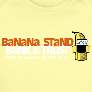 Banana Stand Bank Trust - Short Sleeve Baby Bodysuit