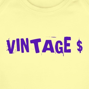 VINTAGE MONEY - Short Sleeve Baby Bodysuit