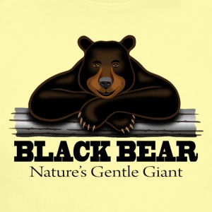 Black Bear: Nature's Gentle Giant - Short Sleeve Baby Bodysuit