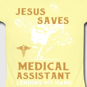 Medical Assistant Shirts - Short Sleeve Baby Bodysuit