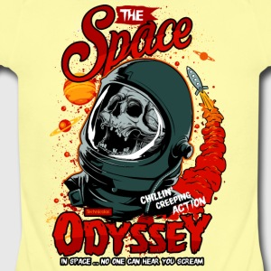 the space odyssey - Short Sleeve Baby Bodysuit