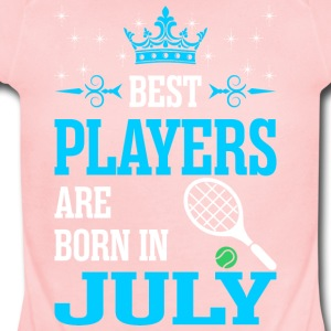 Best Players Are Born In July - Short Sleeve Baby Bodysuit