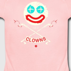 Neo clowens - Short Sleeve Baby Bodysuit