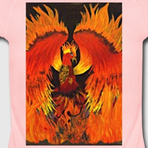 Rising of the Phoenix - Short Sleeve Baby Bodysuit