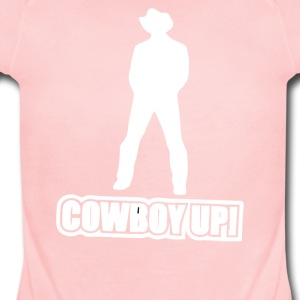 Cowboy Up - Short Sleeve Baby Bodysuit