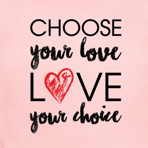 Choose Your Love T-shirt - Short Sleeve Baby Bodysuit
