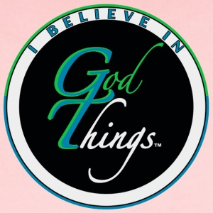 I Believe In God Things Original Logo - Short Sleeve Baby Bodysuit