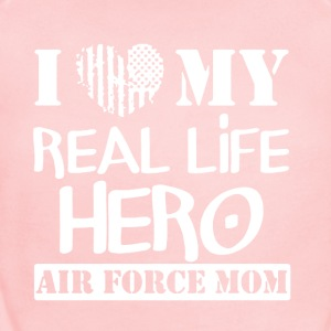 Love This Air Force Mom Shirt - Short Sleeve Baby Bodysuit