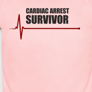 sudden cardiac arrest survivor - Short Sleeve Baby Bodysuit