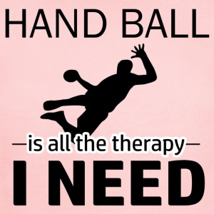 Hand Ball is my therapy - Short Sleeve Baby Bodysuit