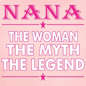 Nana The Woman The Myth The Legend - Short Sleeve Baby Bodysuit
