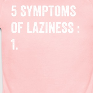 5 Symptoms of laziness - Short Sleeve Baby Bodysuit