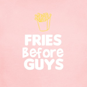 Fries before guys - Short Sleeve Baby Bodysuit