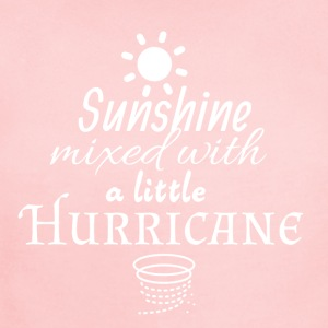 Sunshine mixed with a little Hurricane - Short Sleeve Baby Bodysuit