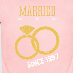 Married since 1997 - Short Sleeve Baby Bodysuit
