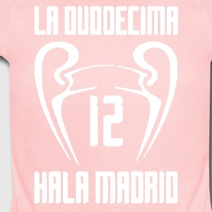 real madrid - Short Sleeve Baby Bodysuit