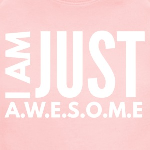 I AM JUST AWESOME - WHITE CLASSIC - Short Sleeve Baby Bodysuit