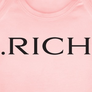 RICH logo - Short Sleeve Baby Bodysuit