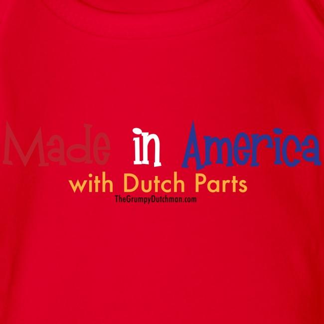 Dutch Parts colored lettering