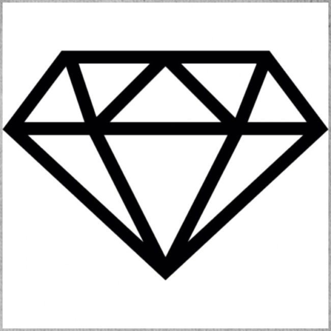diamond outline 318 36534