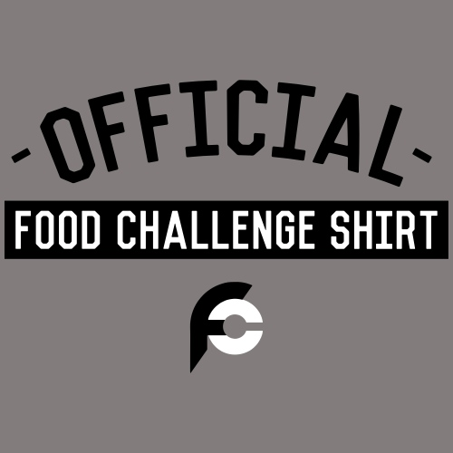 Official Food Challenge Shirt 1 - Organic Short Sleeve Baby Bodysuit
