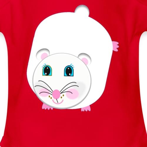 Cuteedoll.com Transform Soft Toy Tee - Organic Short Sleeve Baby Bodysuit