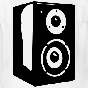 Speaker Vector - Short Sleeve Baby Bodysuit