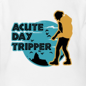 Acutedaytripper - Short Sleeve Baby Bodysuit