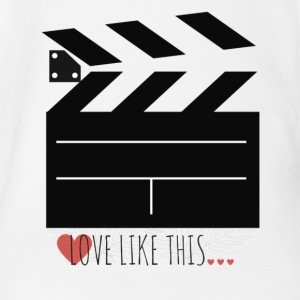 LOVE LIKE THIS - FILM - CINE - Short Sleeve Baby Bodysuit
