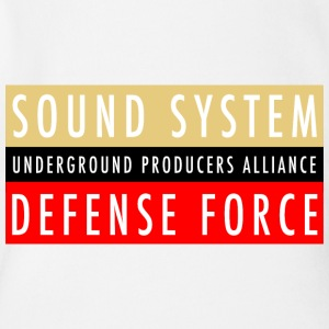 UPA Sound System Defense Force - Short Sleeve Baby Bodysuit