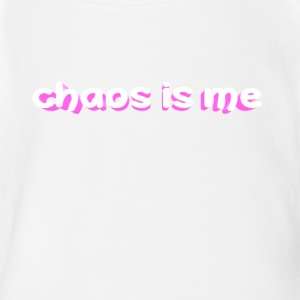 chaos is me - Short Sleeve Baby Bodysuit