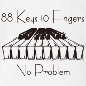 88keys 10fingers - Short Sleeve Baby Bodysuit