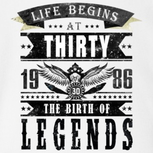 Birth of Legends T Shirt - Short Sleeve Baby Bodysuit