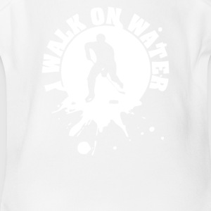 I walk on water - Short Sleeve Baby Bodysuit