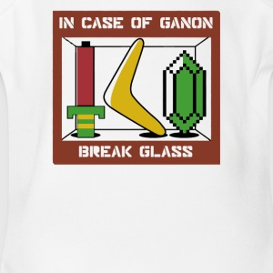 In Case of Ganon Break Glass - Short Sleeve Baby Bodysuit
