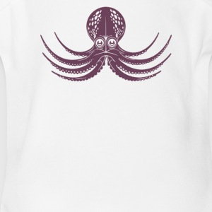 The Octopus Cyber System - Short Sleeve Baby Bodysuit