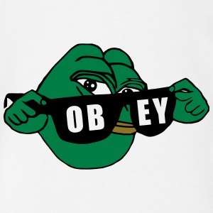 Pepe the Frog Sunglasses Obey - Short Sleeve Baby Bodysuit
