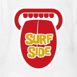 Surf Side - Short Sleeve Baby Bodysuit