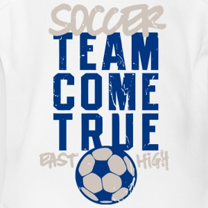 Soccer Team Come True East High - Short Sleeve Baby Bodysuit