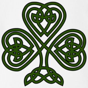 celtic shamrock - Short Sleeve Baby Bodysuit