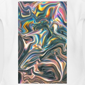 Colour swirl - Short Sleeve Baby Bodysuit