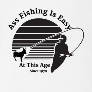 Ass Fishing Since 1970! - Short Sleeve Baby Bodysuit