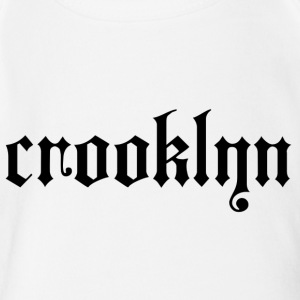 crooklyn - Short Sleeve Baby Bodysuit