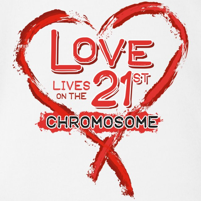 Down Syndrome Love (Red)