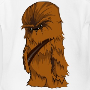 Angry Chewbacca - Short Sleeve Baby Bodysuit
